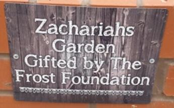 Garden for Zachariah